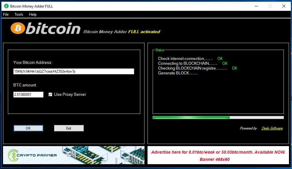Free btc generator without fees 2020